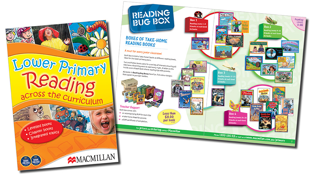 Lower Primary Reading catalogue design