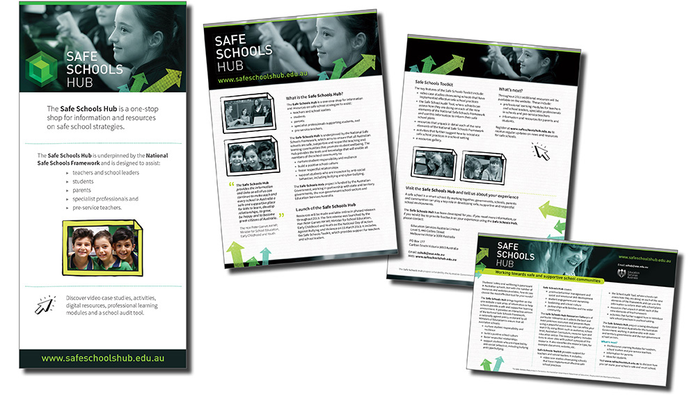 Safe Schools Hub marketing package